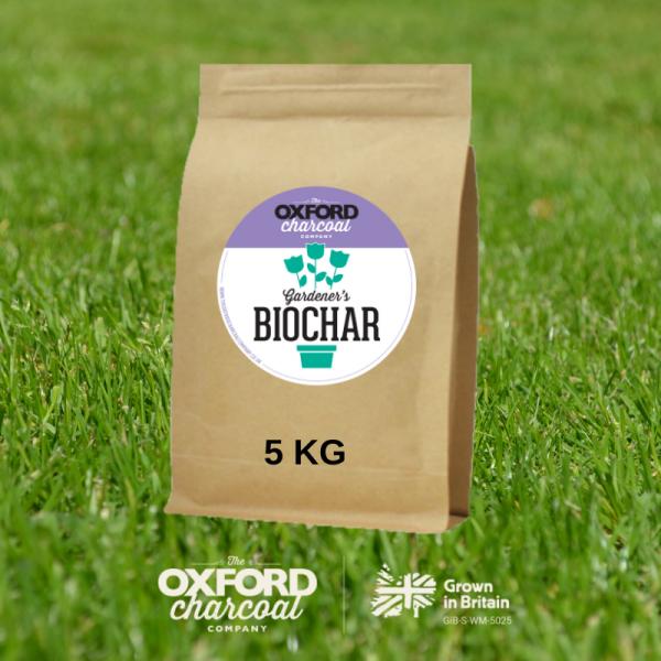 5 KG bag of Biochar